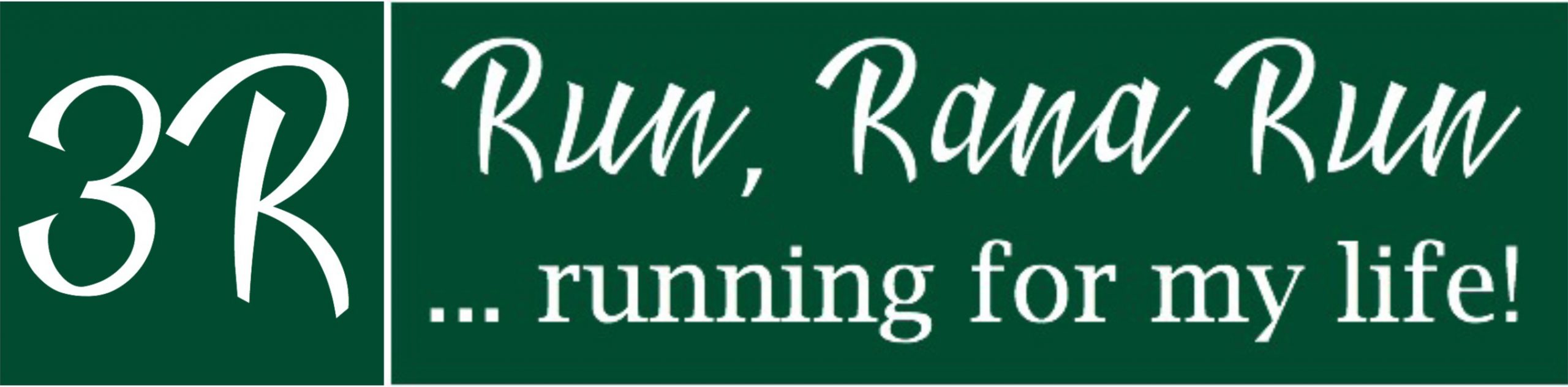 Run Rana Run - Running Blog