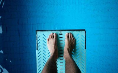 Overcoming Fear – Standing on the 1 Metre Springboard!
